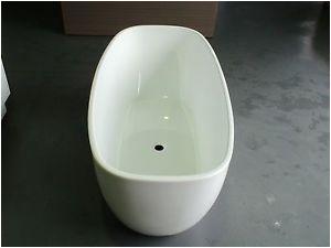 Bathtubs Melbourne Melbourne 1450mm Thin Edge Slim Freestanding Bath Tub 12