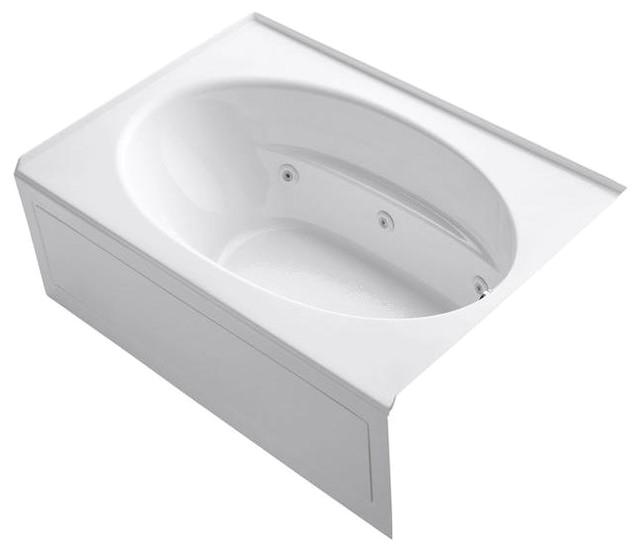 Bathtubs Modern K Kohler Jetted Bathtubs Windward 5 Ft Whirlpool Tub In