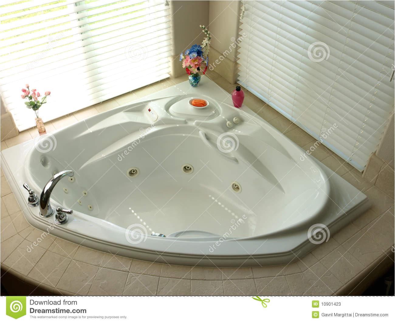 stock photos bath room corner modern bathtub image