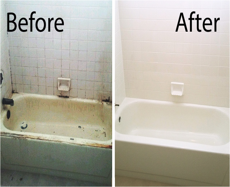 Bathtubs Nearby How to Resurface A Bathtub Diy
