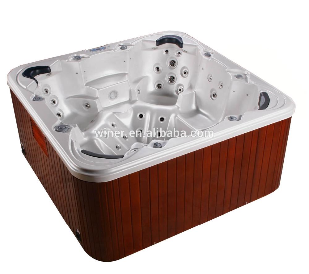 Musical freestanding outdoor massage jet whirlpool hot tubs cheap