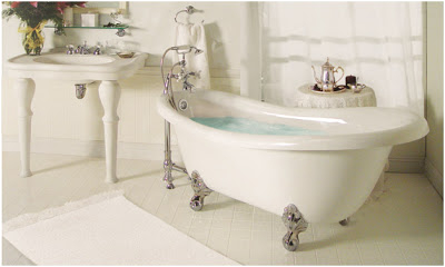 clawfoot tub faucets plete look