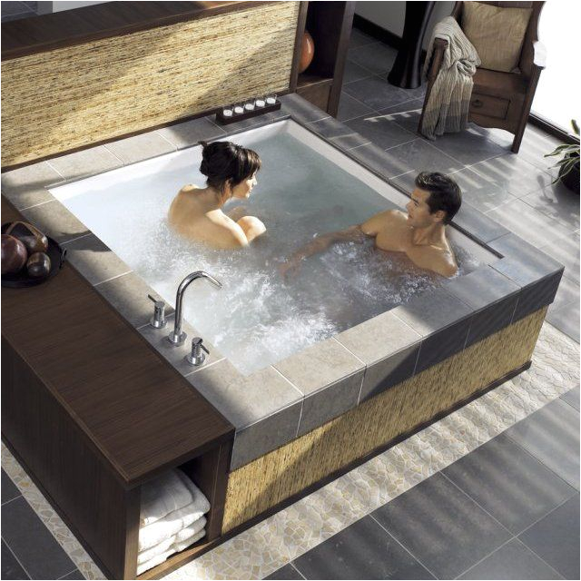 Bathtubs Whirlpool Jets Consonance Two Person Whirlpool Bathtub