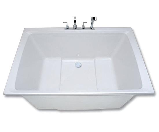 Bathtubs with Seats Xanadu Japanese Style Deep soaking Tub
