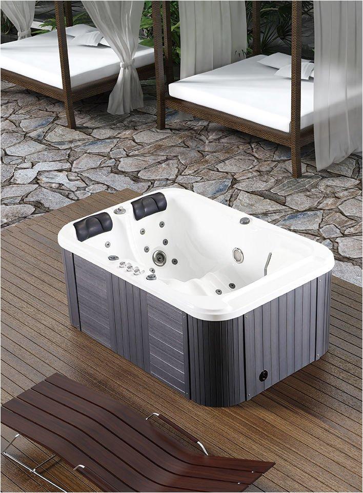 Bathtubs with Whirlpool Jacuzzi 2 Person Hydrotherapy Bathtub Hot Bath Tub Whirlpool