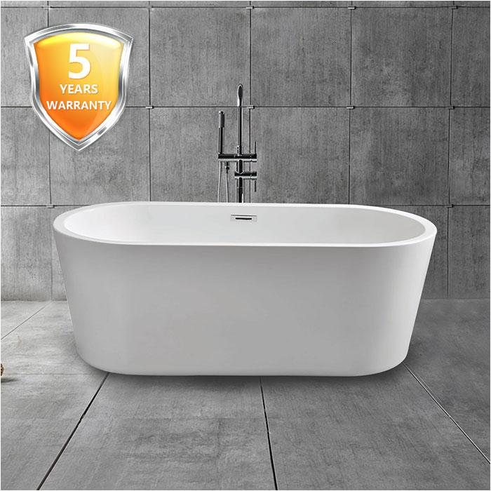 Best Acrylic Bathtubs Canada 67 In Freestanding Bathtub Acrylic White Dk Mec3004b