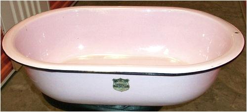Best Baby Bathtub for Kitchen Sink Vintage Pink Enamelware Bath Wash Tub Baby Basin Sink