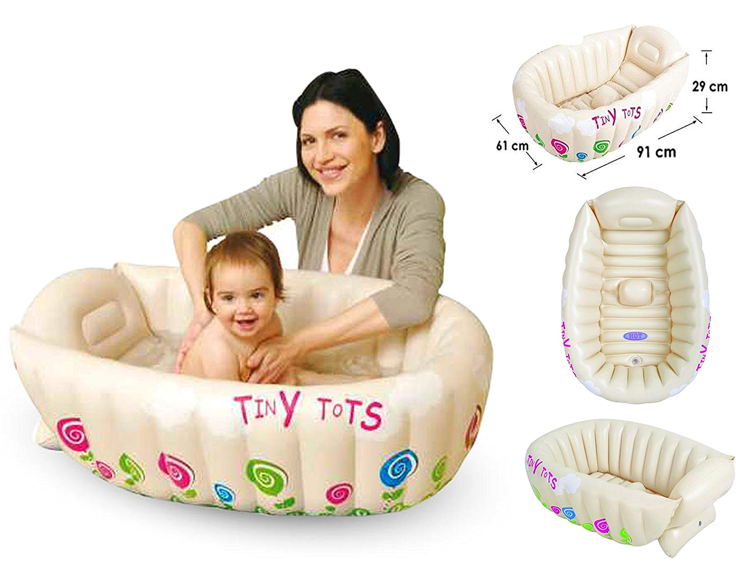 top 10 best baby inflatable bath tubs for travel 2018 2019 ob29mourz