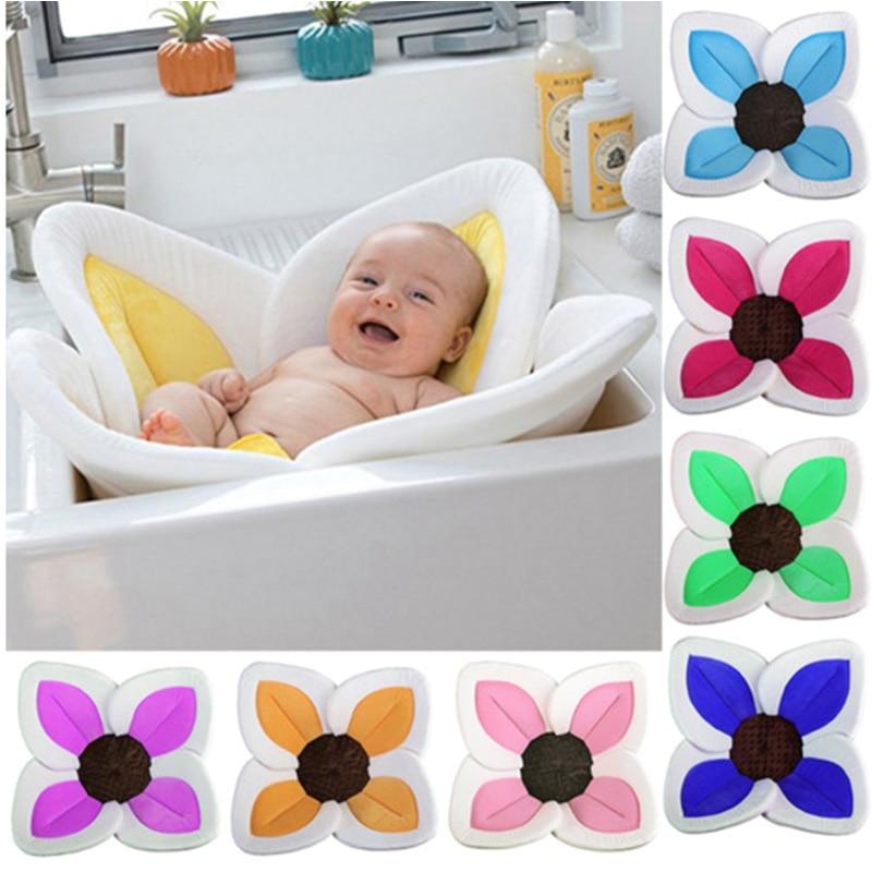 baby flower cushion bath tub