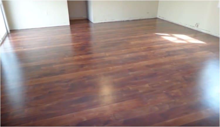 concrete slab into hardwood floor