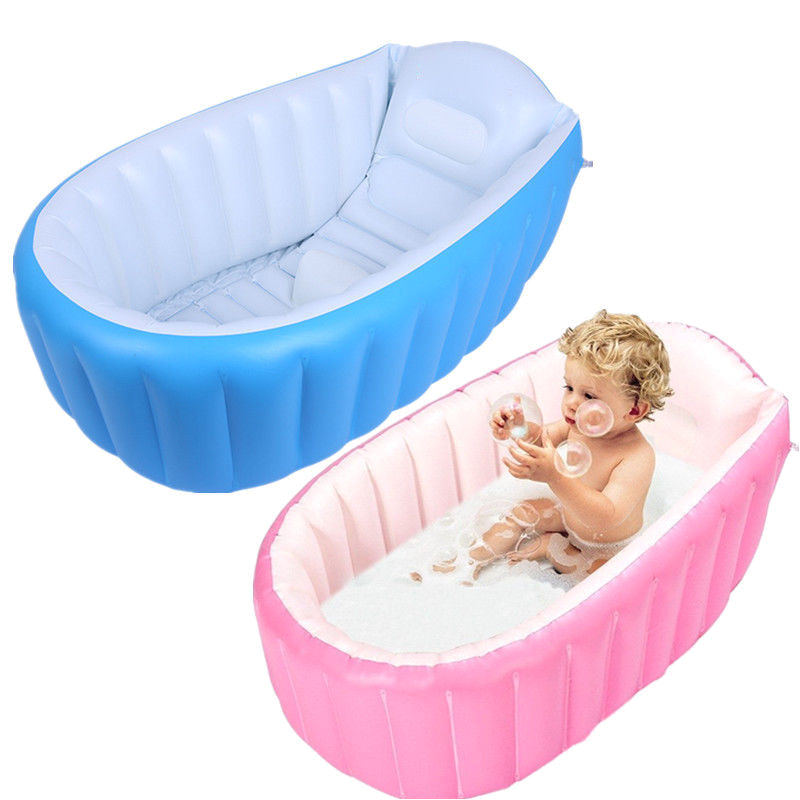 Best Portable Baby Bathtub Baby Inflatable Bathtub Pvc Thick Portable Bathing Bath