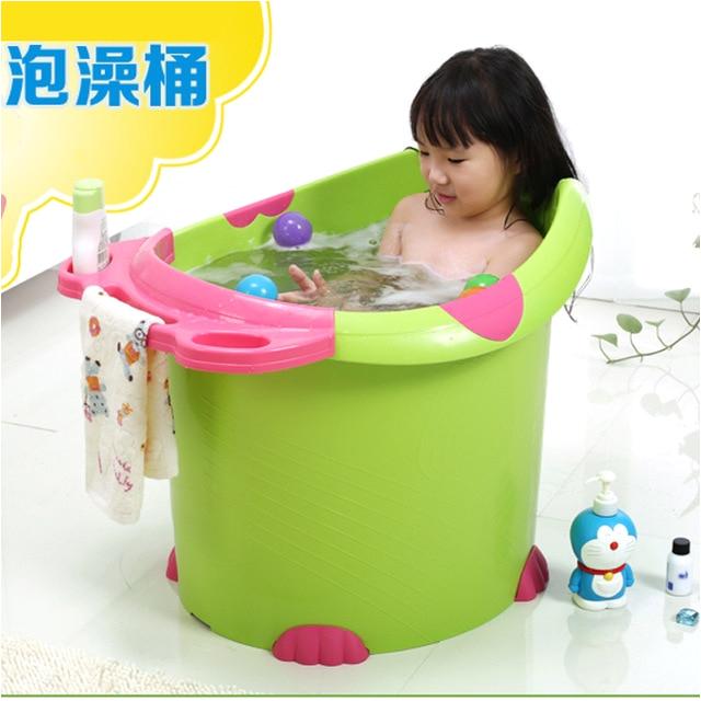 Big Bathtubs for toddlers Simple Plastic Pot Child Take A Bath Bucket Bath Bucket