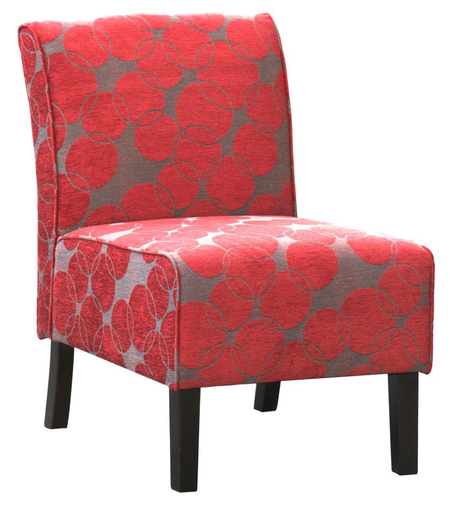 pnai accent chair red