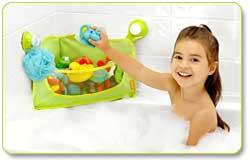 Brica Baby Bathtub Amazon Brica Corner Bath Basket toy organizer