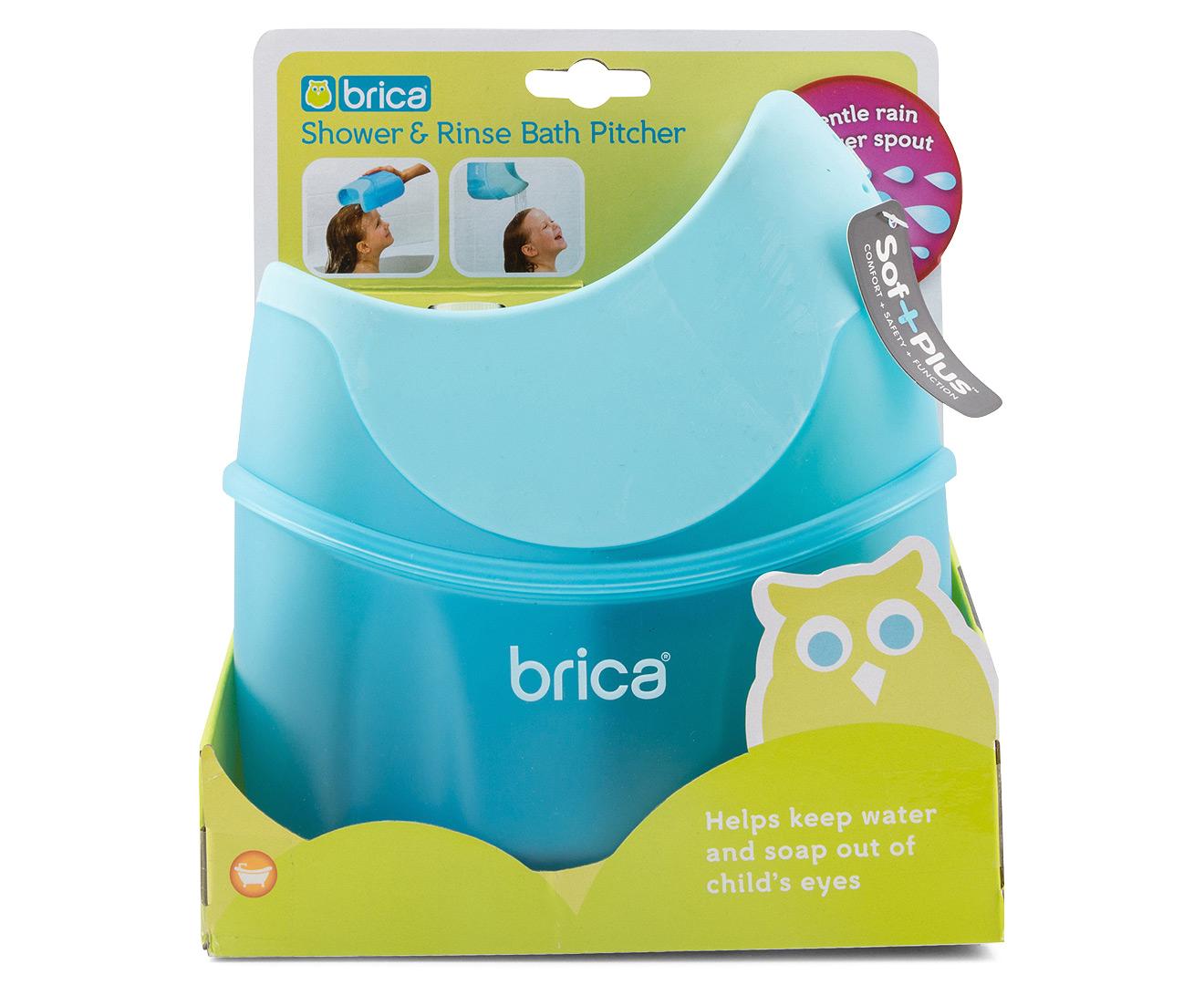 brica shower rinse bath pitcher