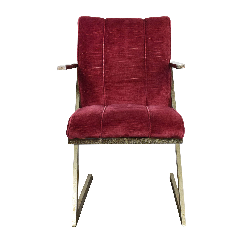 Burgundy Velvet Accent Chair Off Vintage Plush Burgundy Velvet Chair Chairs