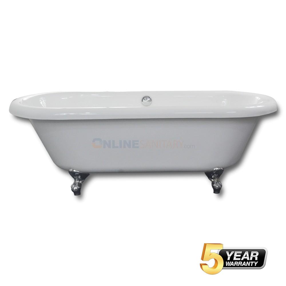 clawfoot freestanding acrylic bathtub best price
