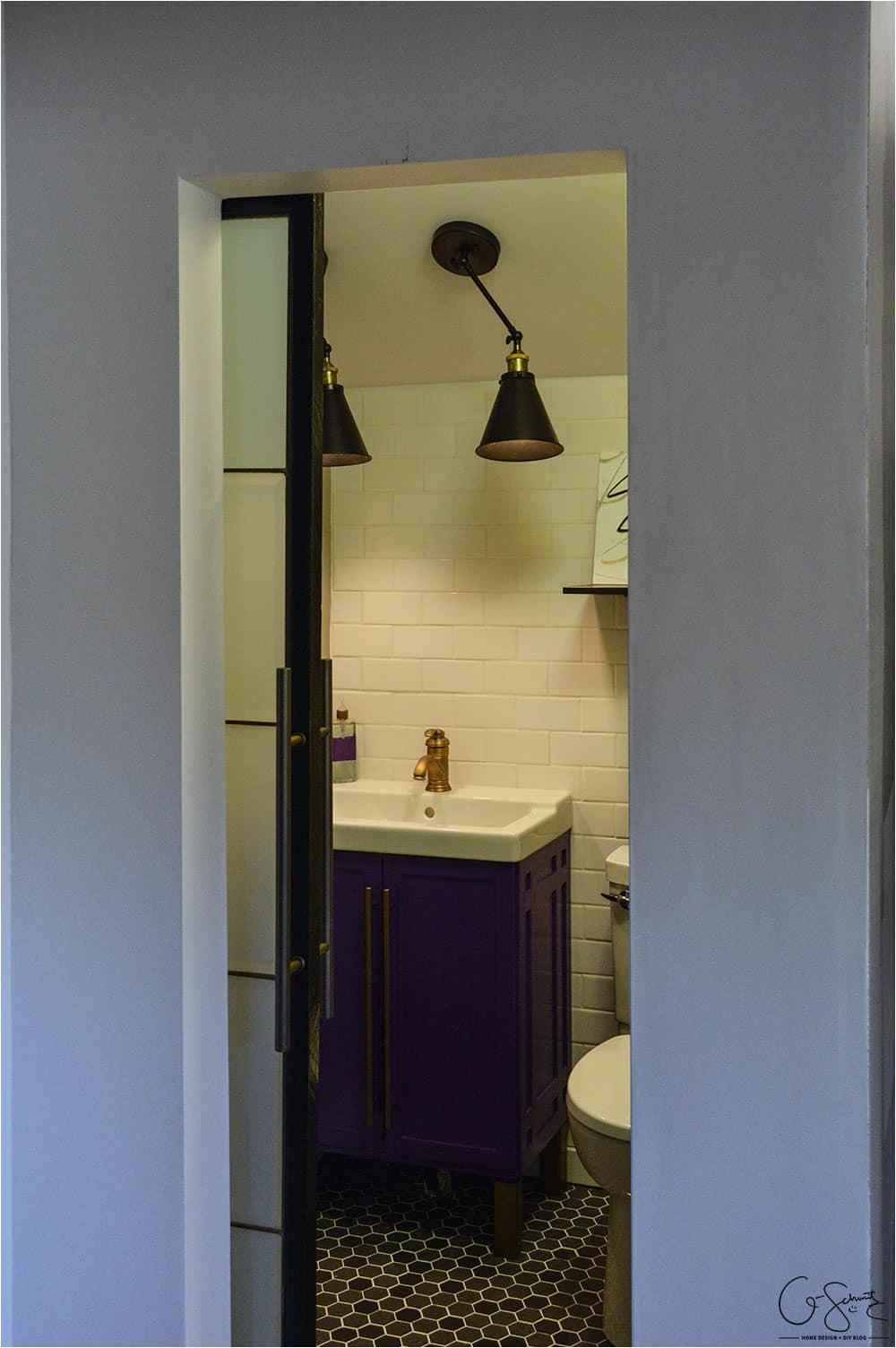 can i use a barn door for a bathroom