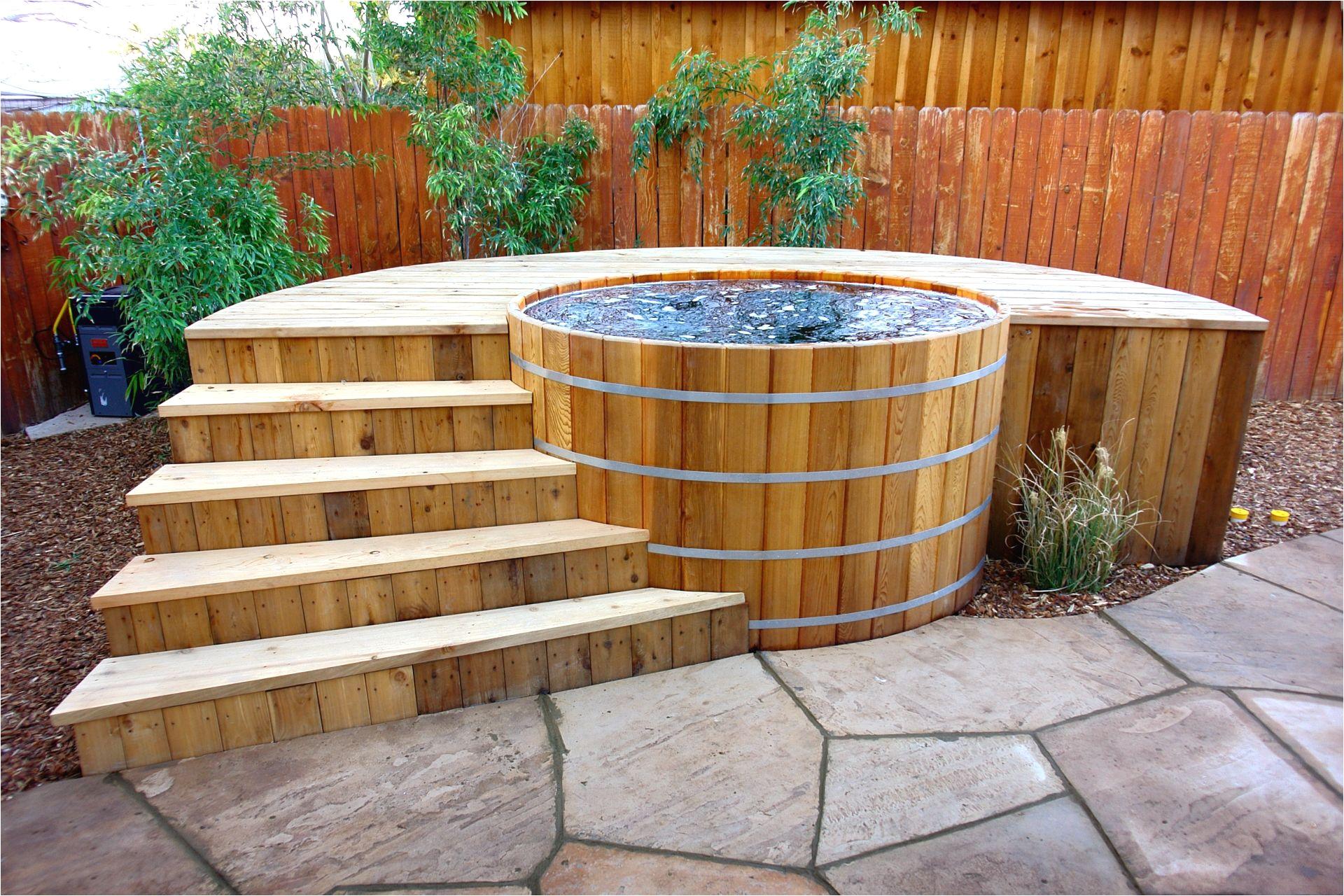 Cedar Outdoor Bathtub Cedar Hot Tub From Zen Bathworks with My Design Of A Cedar