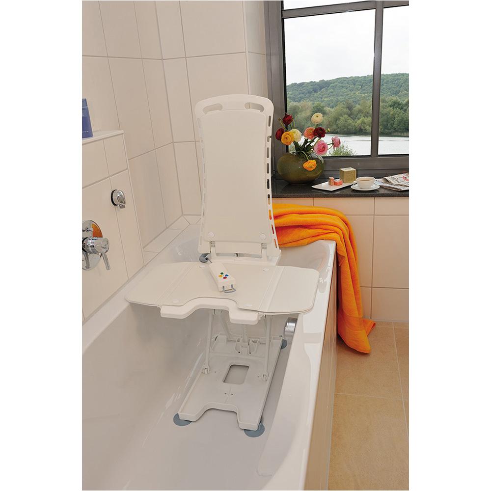 Chair for A Bathtub White Bellavita Auto Bath Tub Chair Seat Lift