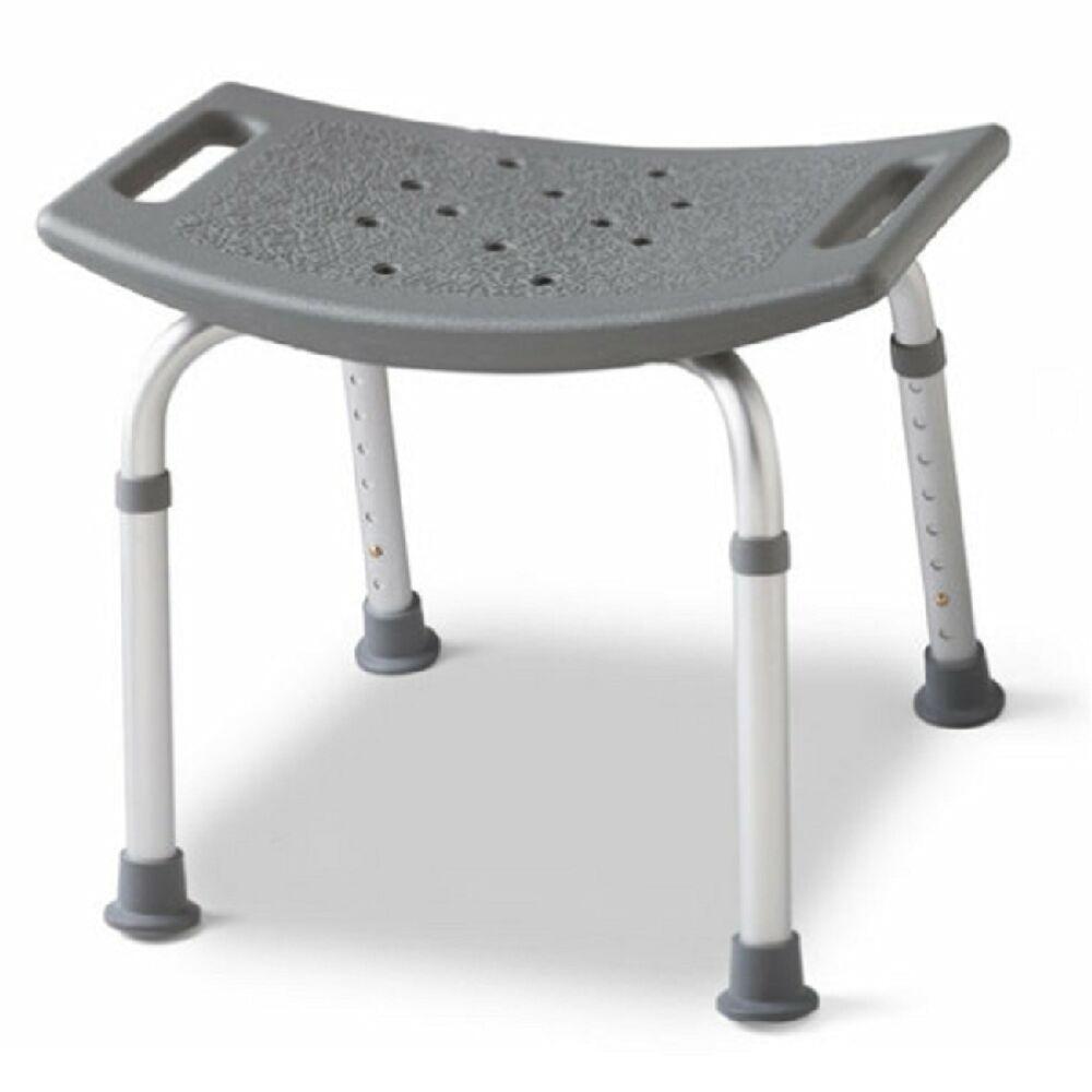 Chairs for Bathtubs Backless Bath Bench Adjustable Shower Stool Seat Bathtub