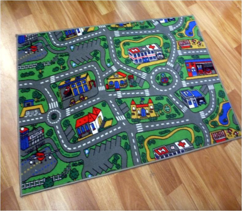 road rugs kids city car activity play mats 1x1 5m 1x2m 1 33x2m 2x2m 2x3m sizes