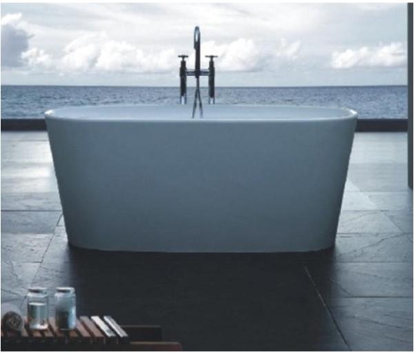 lexy freestanding cast stone bath fienza