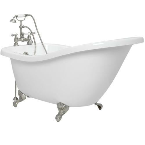 Claw Foot Bath Buy Acrylic Clawfoot Tub Plumbing & Fixtures