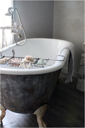 interiors black clawfoot tubs