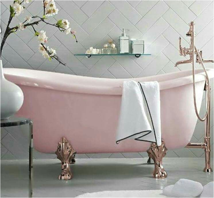 Claw Foot Bath Melbourne Pink Bathtub is so Cute Household
