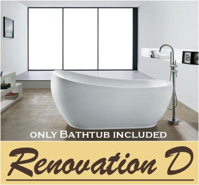 1600 classic high back claw foot freestanding bath tub p 729