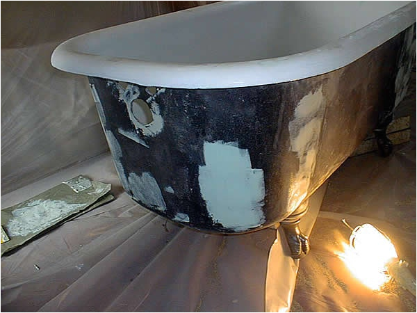 Claw Foot Bath Restoration 1000 Images About Refinish Clawfoot Tub On Pinterest