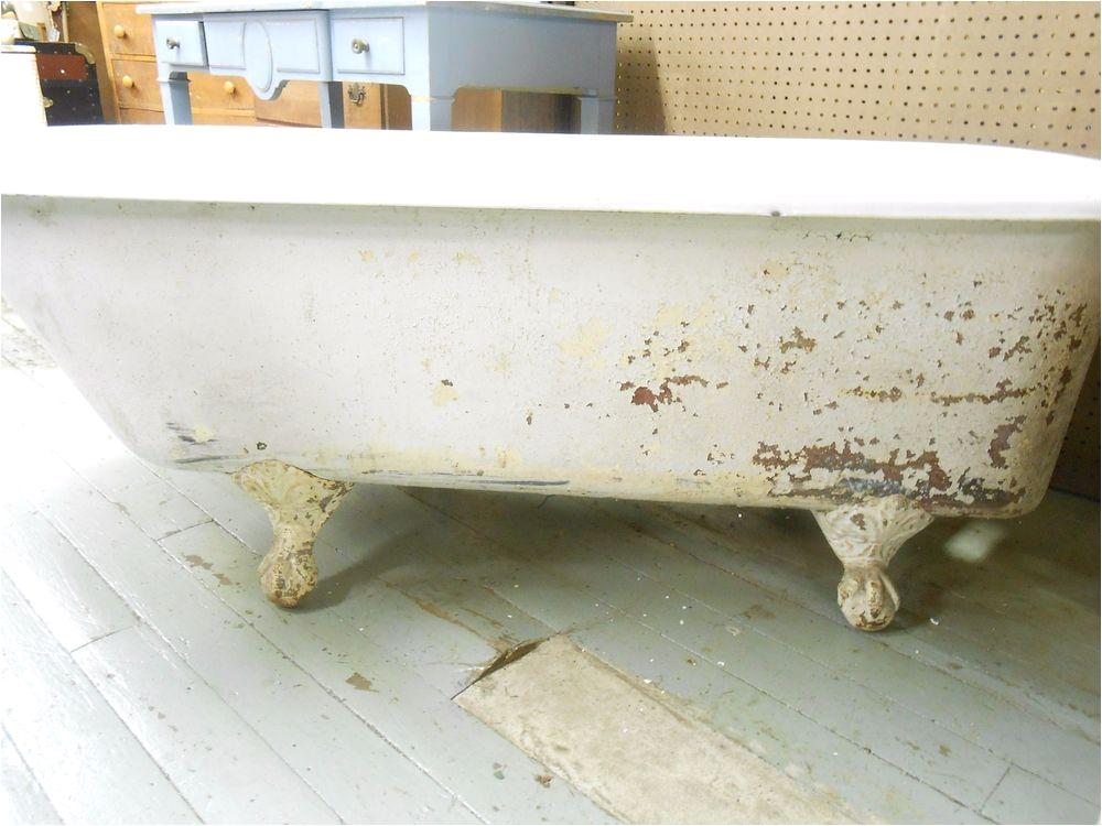 Claw Foot Bathtub Antique Cast Iron Clawfoot Tub 5