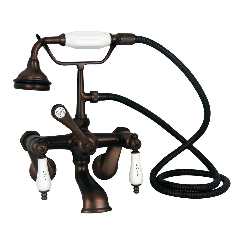 Claw Foot Bathtub Faucet Barclay Products Porcelain Lever 3 Handle Claw Foot Tub