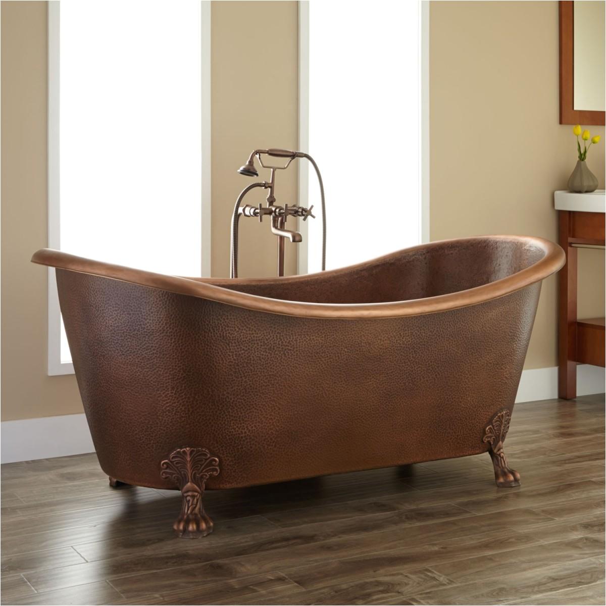 the elegance and charm of the clawfoot bathtub