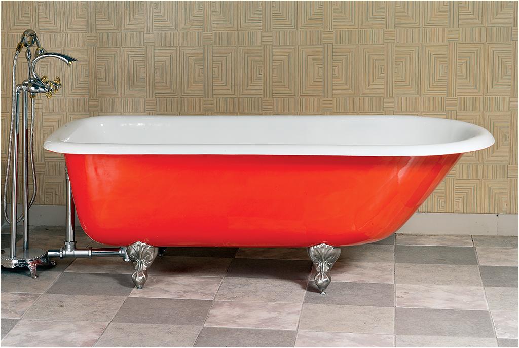 clawfoot baths