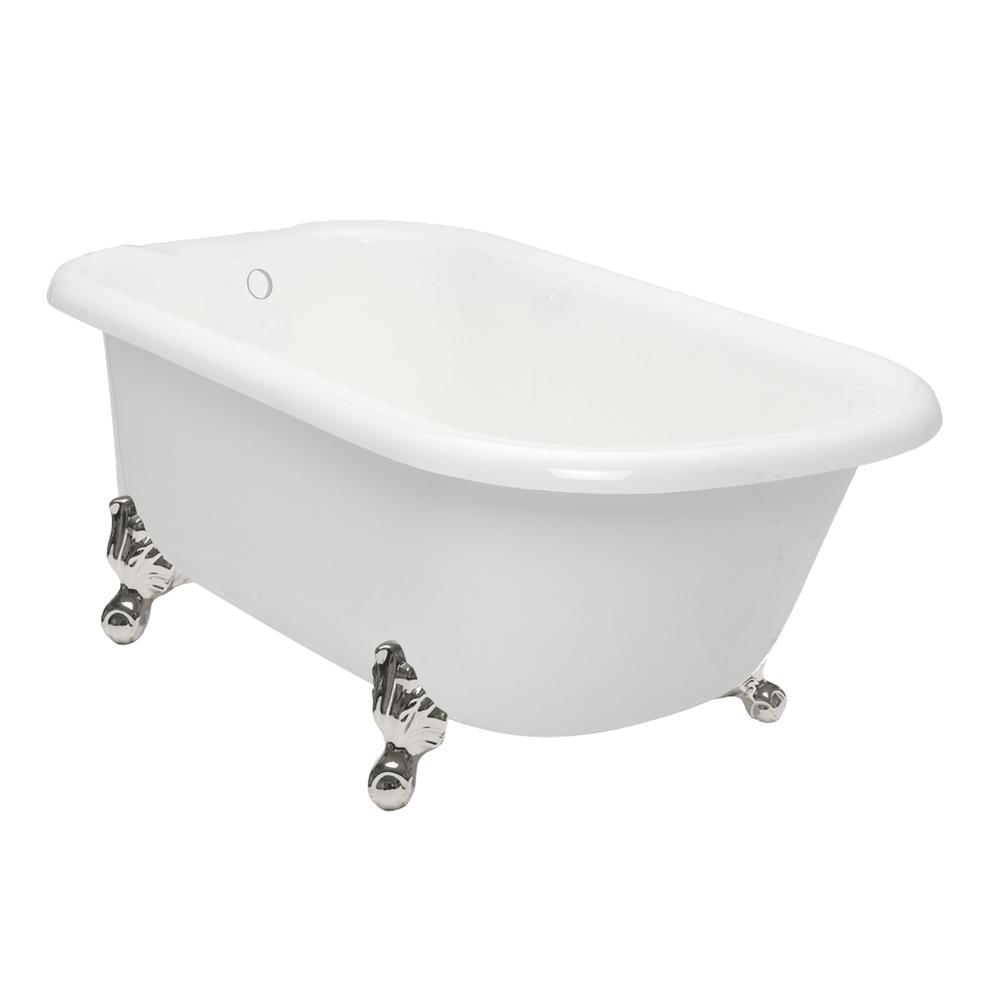 Clawfoot Bathtub 60 American Bath Factory 60 In Acrastone Acrylic Classic