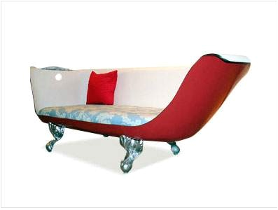 my claw foot tub couch obsession