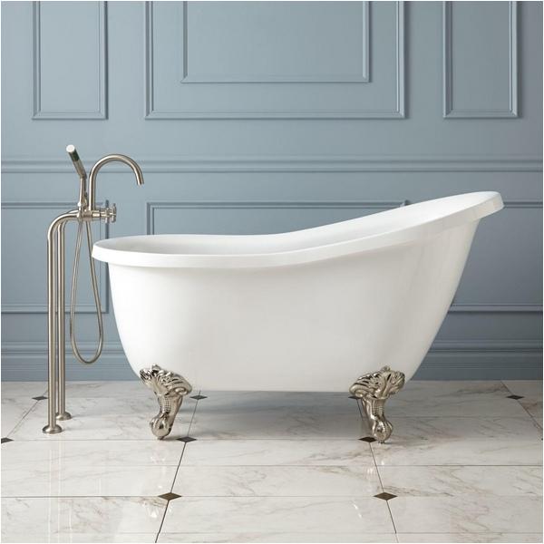 clawfoot tub faucet bathroom design ideas