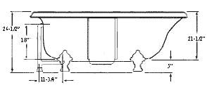 jacuzzi tub dimensions