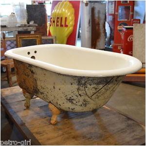 Clawfoot Bathtub Ebay Vintage Cast Iron Clawfoot Bathtub Tub Small Short