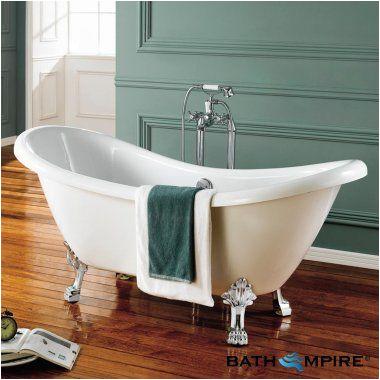 Clawfoot Bathtub Ensuite Roll top Double Slipper Bath with Dragon Feet
