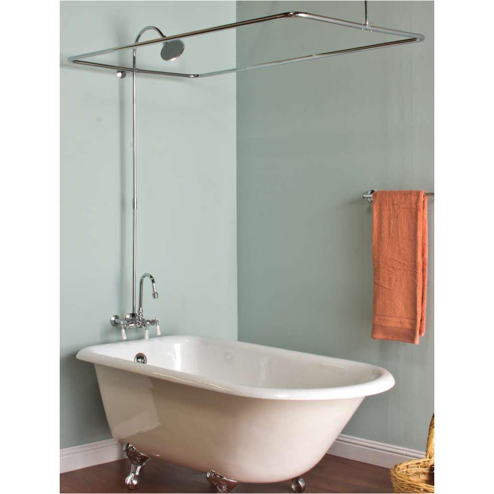 Clawfoot Bathtub Faucet Lowes Bath & Shower Convert Your Tub Into A Full Clawfoot