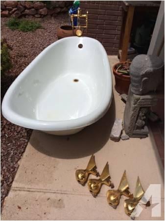 vintage kohler clawfoot bathtub 2500