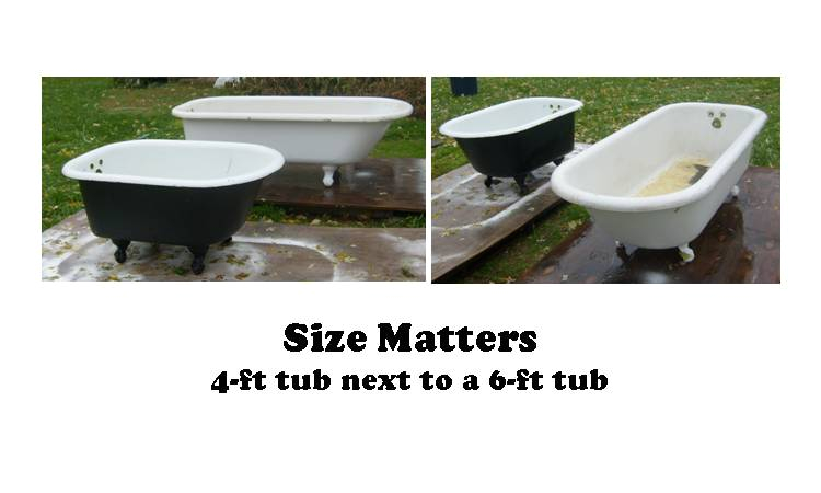 Clawfoot Bathtub Length Amazing Glaze Kitchen & Bath Renewal Clawfoot Tubs