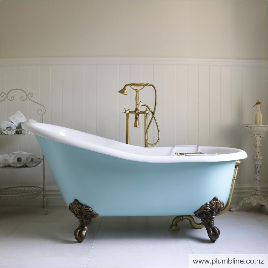 slipper 1540 bath painted