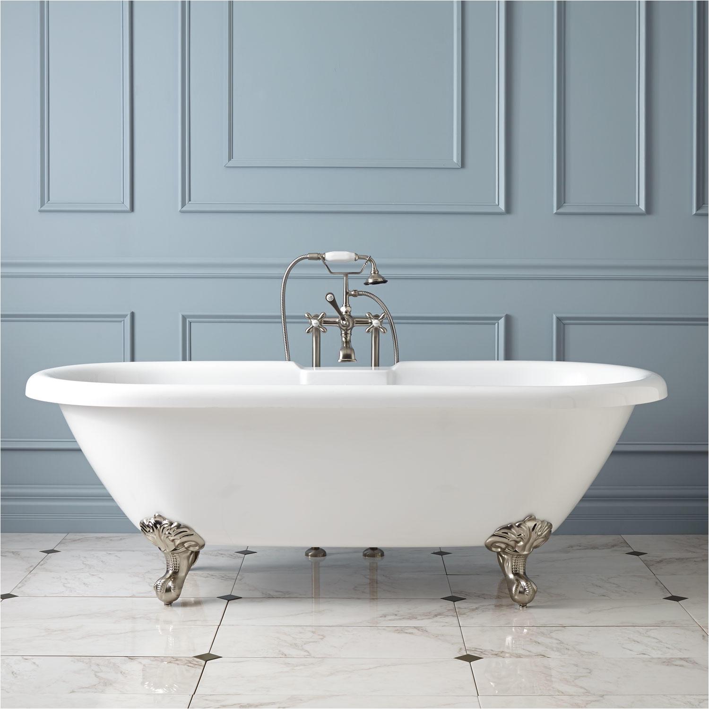 Clawfoot Bathtub Prices Audrey Acrylic Clawfoot Tub Imperial Feet Bathroom