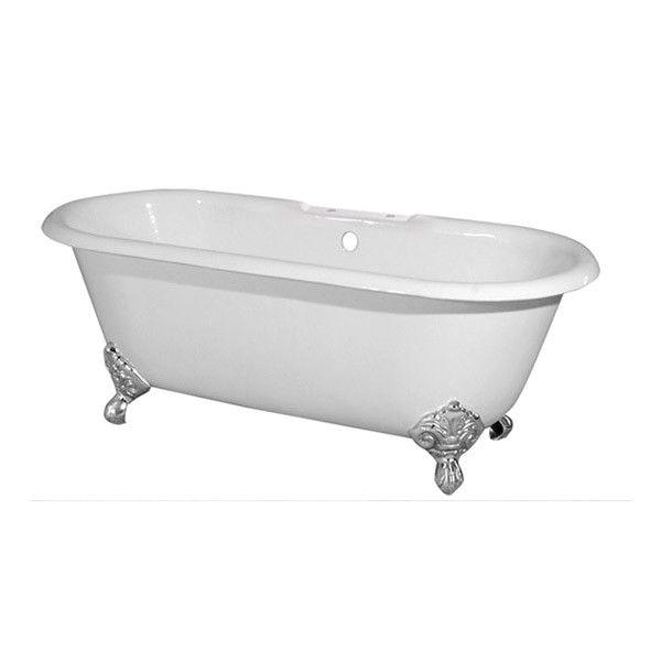 Clawfoot Bathtub Weight Randolph Morris 60 Inch Cast Iron Double Ended Clawfoot