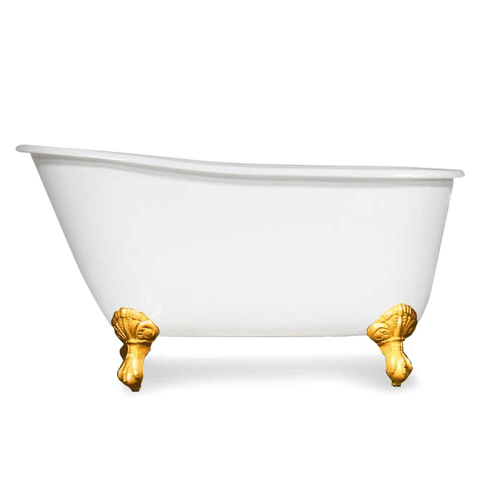 5 swedish slipper cast iron tub