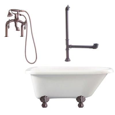 giagni la3 augusta deck mounted faucet package freestanding tub g